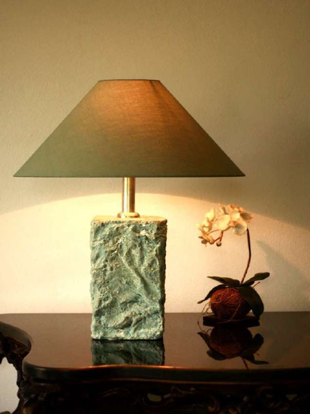 artificial stone lamp