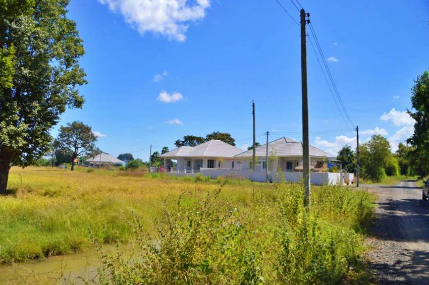 House plot for sale on established development in Buriram
