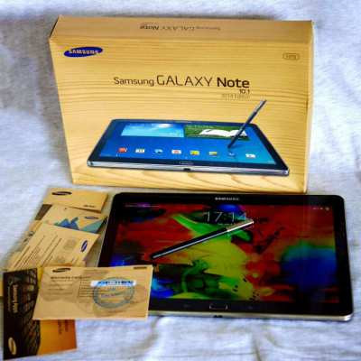 Samsung Note 10.1 2014 Edition 4G LTE 2560x1600 with S Pen in Box