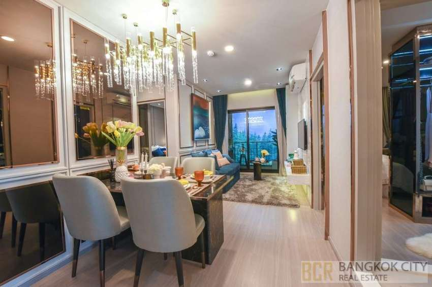Aspire Asoke Ratchada Luxury Condo Special Priced 2 Bedroom Units Sale