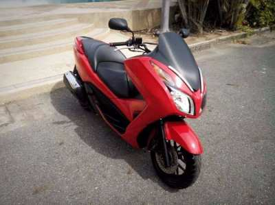 2013 Red Colour Honda Forza 300