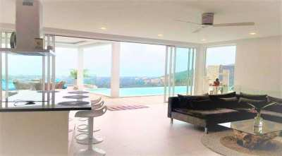 Sea view villa for sale  in Chaweng Koh Samui