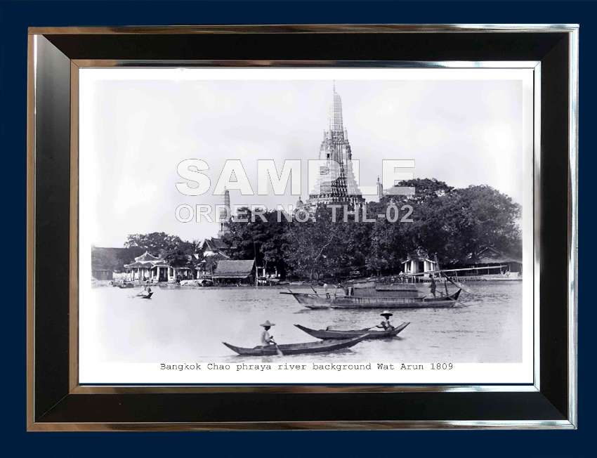 Thailand Rare Historical Photographs from 1830 to 1960