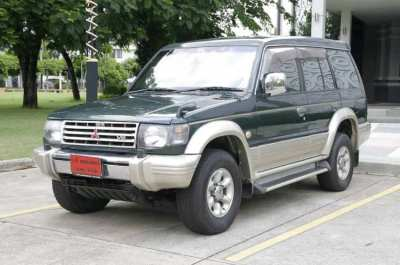 Look for : Mitsubishi Pajero Old Second Hand Clean !