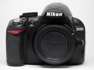 Nikon D3100 DSLR Black Body