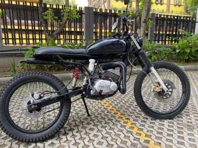 Yamaha DT 125 Custom