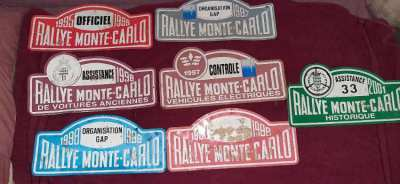 sale of Monaco rally plate plus collector's license plate