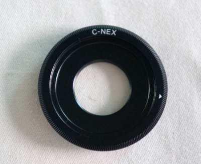 C Mount Adapter C-NEX  For Sony E Mount