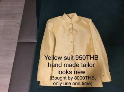 4 Thai silk suits (price reduced)