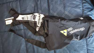 Team issue Assos cycling shorts.