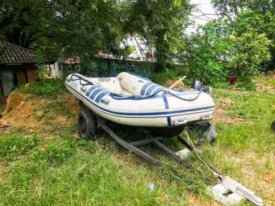 RIB 360 For sale . Good quality , Good condition . Light weight .
