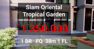 Siam Oriental Tropical Garden 1 BR ????1.35 M
