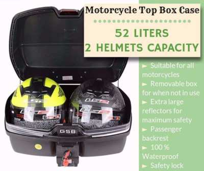 52 L. Motorcycle Luggage Box