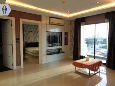 Condo for rent,  Soi Sukhumvit 87 Pattaya, Big balcony