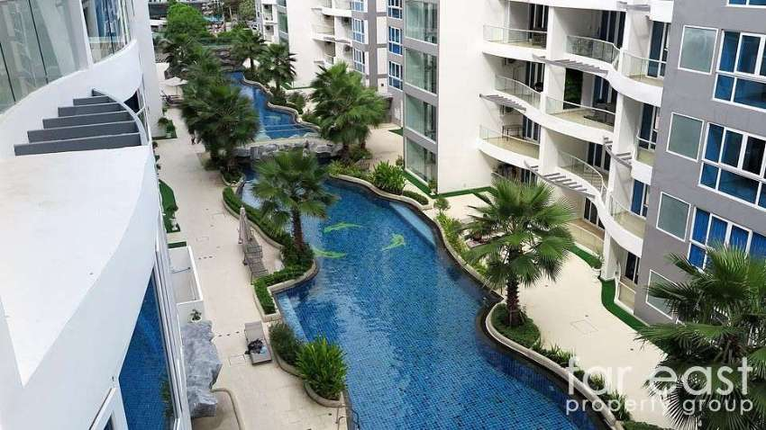Grand Avenue 51sqm. One Bedroom With Pool View