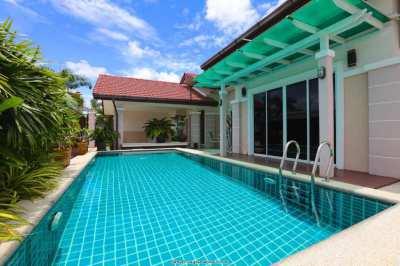 Nice new pool villa