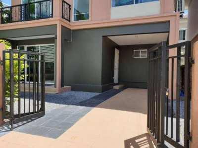 KT-0162 -บ้านเดี่ยว 2ชั้นให้เช่า มี 3 ห้องนอน 2 ห้องน้ำ 1 ห้องครัว