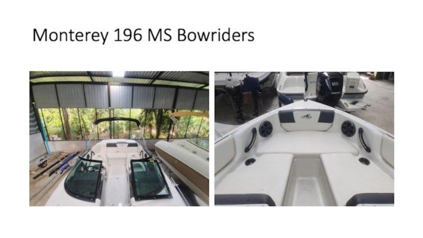 Monterey 196 MS Bowriders