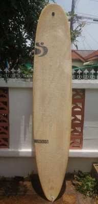 Sale Sunova 9.2 longboard + fiberglass central fin