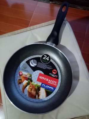 Mineralite Induction Frypan FNLD20DU Size 24 cm. Grey