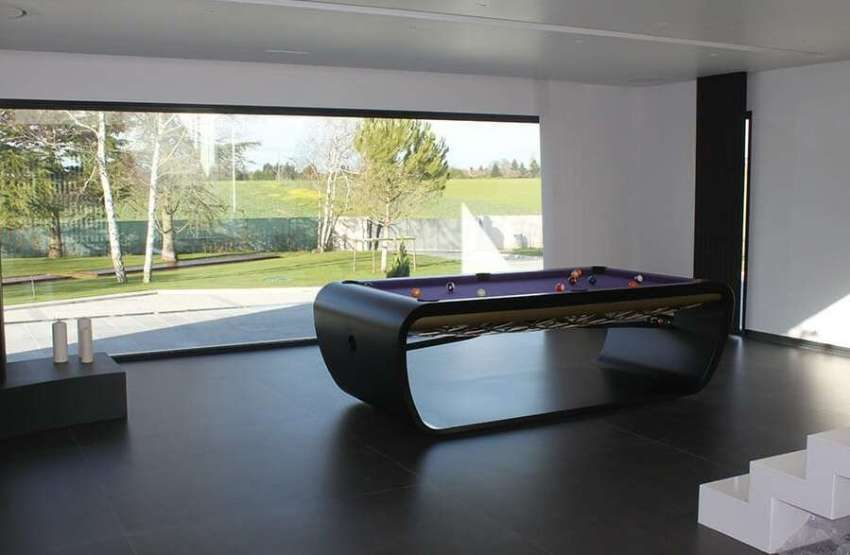 Pool Table BlackLight Design by Toulet – 8ft