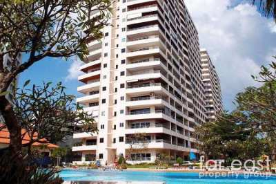 View Talay 3A 59 sqm. Studio For Rent - Beachfront!