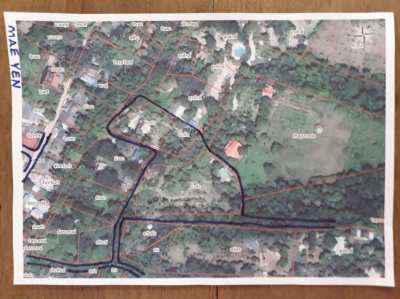 3.75 Rai land with two houses for sale in Pai, Thailand