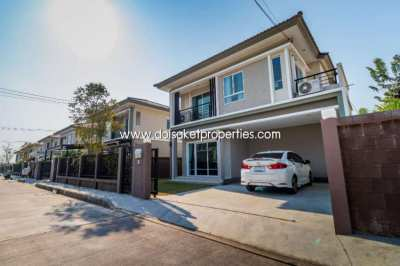 (HS298-03) House for sale in a moo Baan, next to the 3rd Ring Road