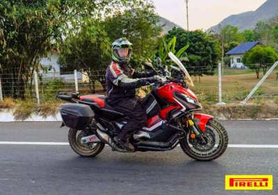 Honda X-ADV 750cc DCT Motorcycle Loaded with Accessories for Touring