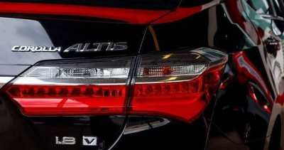 Toyota Corolla Altis 2017 or Newer