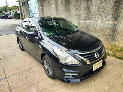 Nissan Almera 1.2E Black Edition Sportech ปี 2018 สภาพนี้เหมือนป้ายแดง
