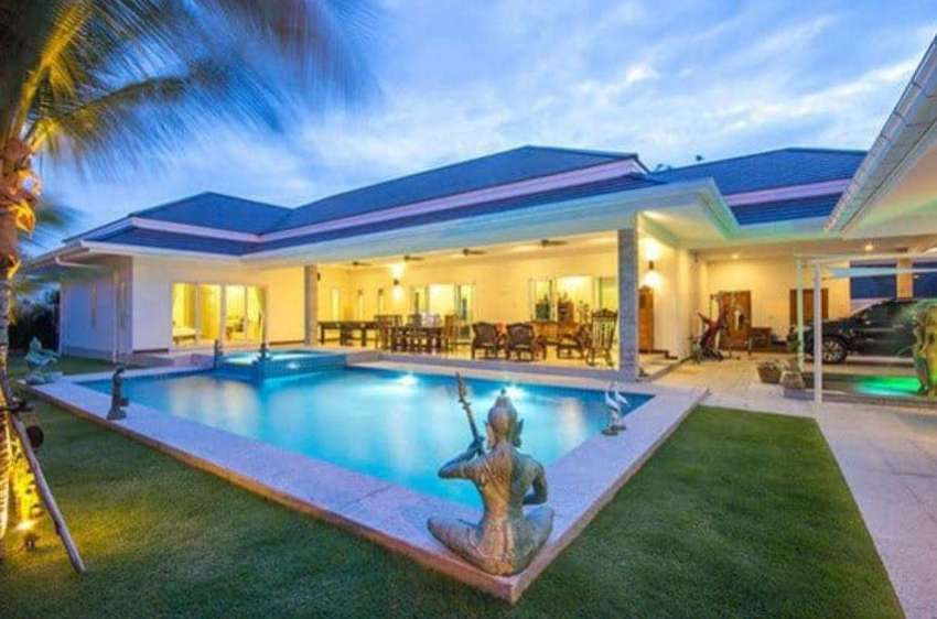 Luxury Pool Villa in Hua Hin near Palm Hills Golf Resort