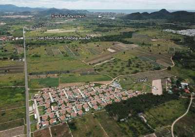 Land 3 rai for sale in Hua hin soi 112