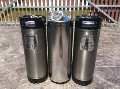 3 Ball Lock Kegs  Beer Brewing