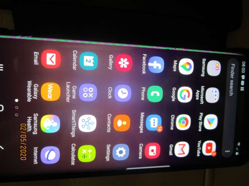 Samsung Galaxy S8 and accessories