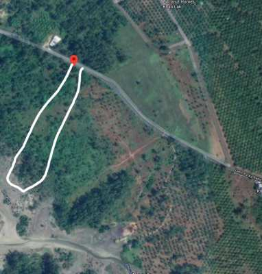 Land for long-term rent ~1km from the beach
