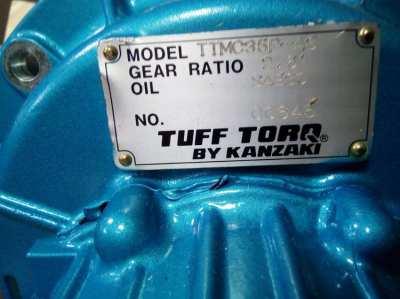 Kanzaki /  Tuff Torq gearbox / transmission