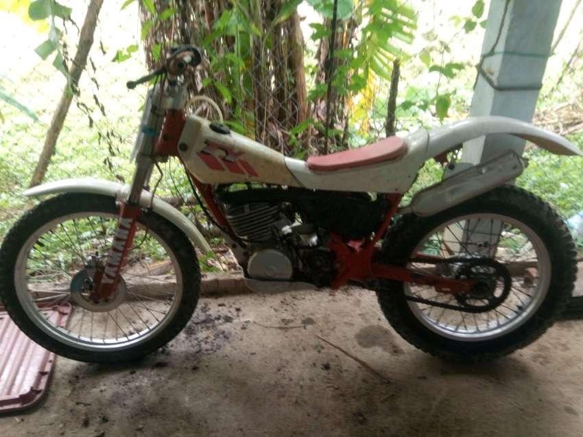 Yamaha TY250 Monoshock trial bike