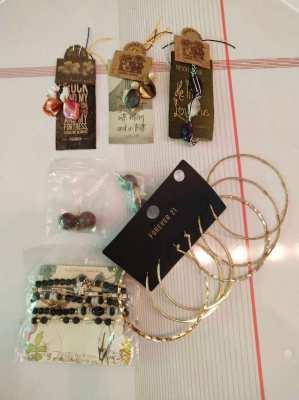 Costume Jewelry Selection - Unused