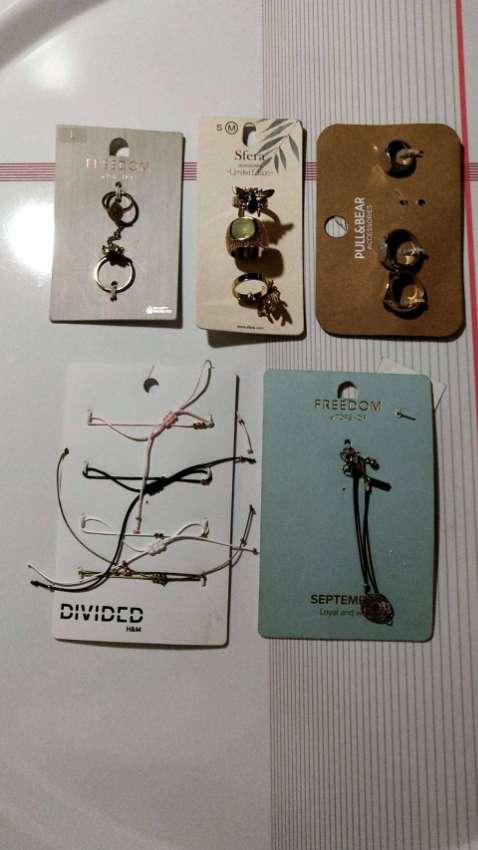 Costume Jewelry - Rings, Necklaces, Chokers etc - Unused
