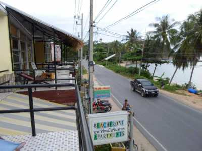 Koh samui 10 beachfront apartments  2 retail spaces 10+25 year lease