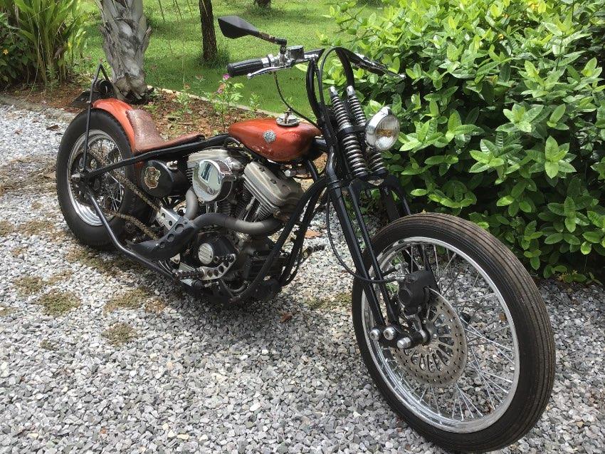 Samurai Chopper Harley Buell