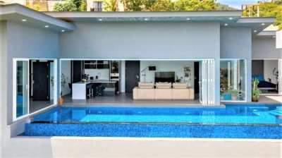 For sale modern villa sea view in Chaweng Koh Samui