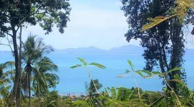For sale sea view land in Bang Por Koh Samui - 5724 sqm