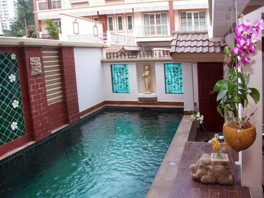 Townhouse with private Pool in Pratumnak