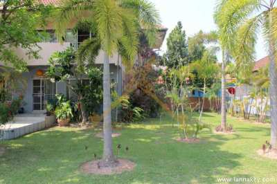 Beautiful House and Garden on 1,528 sqm of Land
