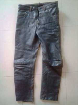 Motorcycle Pants, leather (Waist 29-31)