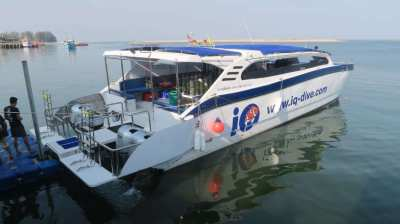 Highe speed Dive Catamaran