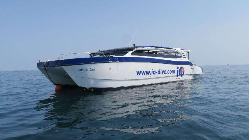 REDUCED!!! Highe speed Dive Catamaran