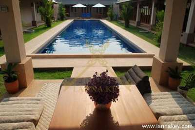 Lanna Pool Villa for Sale